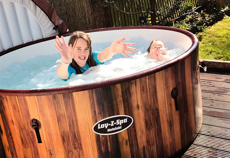 Kids Hot Tub Party
